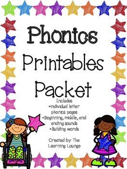 Phonics Packet