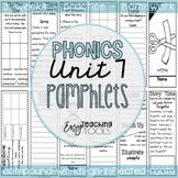Phonics Pamphlets Unit 7 (inflectional endings, compound,r