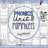 Phonics Pamphlets Unit 8 (irregular plural nouns, comparatives, and suffixes)