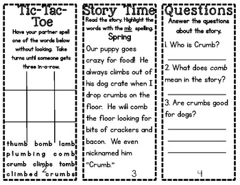 Phonics Pamphlets Unit 9 (y and ly, schwa, and silent letters)