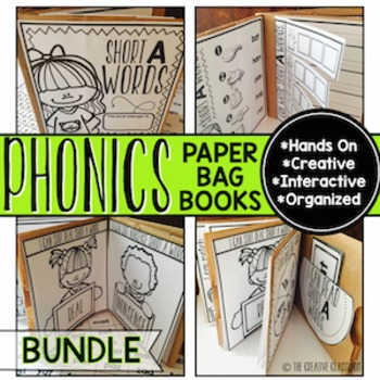 Phonics Paper Bag Book BUNDLE
