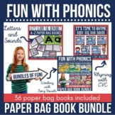 Phonics Paper Bag Books Mega Bundle