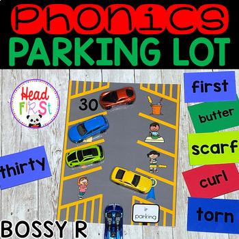 Phonics Parking Lot ELA Center | Bossy R Words