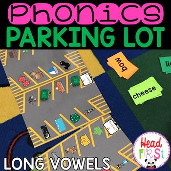 Phonics Parking Lot ELA Center   Long Vowel Letter Teams