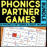 Phonics Partner Games BUNDLE - Distance Learning