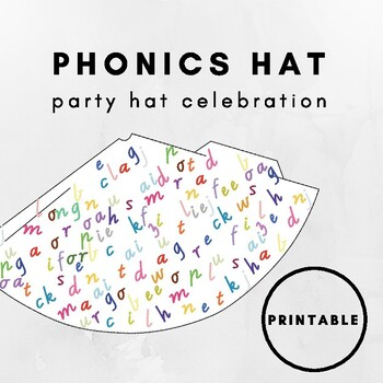 Phonics Party Hat