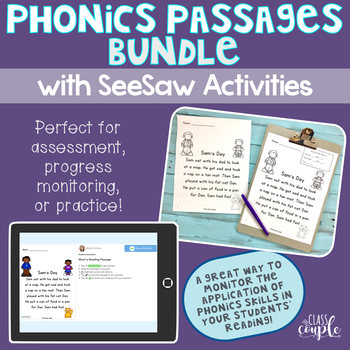 Phonics Passage Assessment Growing Bundle