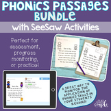 Phonics Passage Assessment Bundle with SeeSaw Activities Option