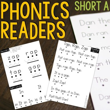 Phonics Passages - Short A Word Family