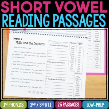 Phonics Passages - Short Vowels