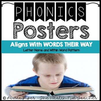 Phonics Pattern Posters: Words Their Way Curriculum