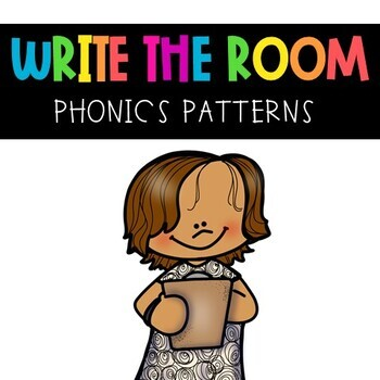 Phonics Pattern Write the Room