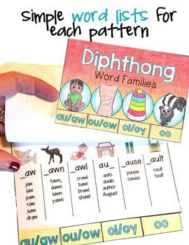 Phonics Mini Books Set 2, Diphthongs, Silent Letters, tch, dge