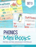 Phonics Mini Books Set 3, R-Controlled Patterns, Prefixes, Suffixes, Syllables