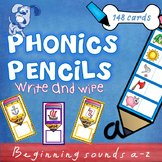 Phonics Pencils Letter Sounds Write & Wipe