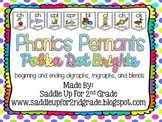 Phonics Pennants Polka Dot Brights: Digraphs, Trigraphs an