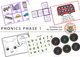 Worksheets for Phonics Phase 1 Activity Resources Pack