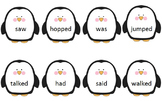 Phonics Phase 6 - Past Tense Penguin Sorting Penguins