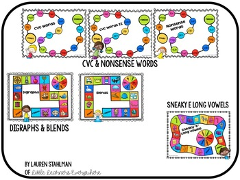 Literacy Game Board Super Pack