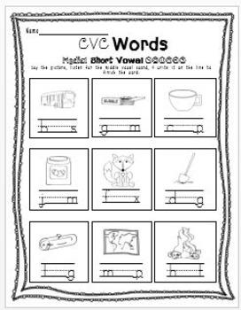 Phonics & Phonemic Awareness Printables Pack - (N0 PREP!)