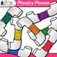Phonics Phones Clip Art {Teach Phonemic Awareness & Phonics Activities in ELA}