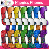 Phonics Phones Clip Art {Teach Phonemic Awareness & Phonic