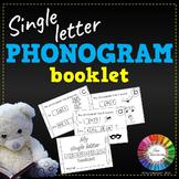 Spalding Phonogram Booklet (Single Letter)