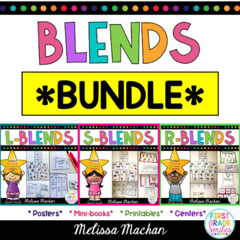 Word Work - Blends Bundle
