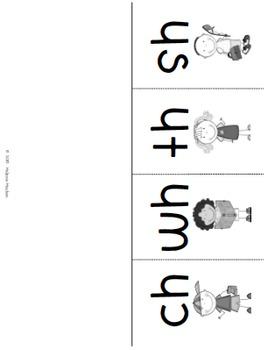 Word Work - Digraphs
