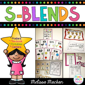 Word Work - S Blends