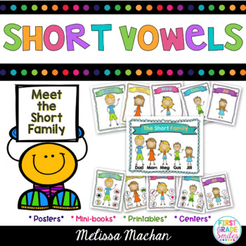 Word Work - Short Vowels/CVC word families