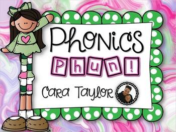 Phonics Phun!  No Prep Printables for Young Learners