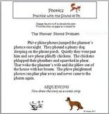 "Phonics Phun with ""Ph"" Sounds: Seatwork"