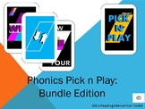 Phonics Pick and Play: Bundle (Similar to UNO)