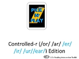 Phonics Pick n Play: Controlled r (Similar to UNO)
