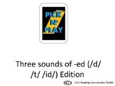 Phonics Pick n Play: -ED ending (Similar to UNO)