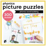 Phonics Picture Puzzles Bundle