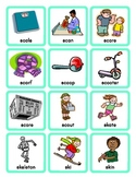 Phonics Picture Sort Cards for 2 and 3 letter S Blends