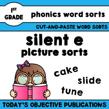 Silent E Phonics Picture Sorts