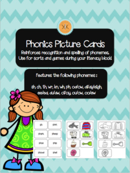 Phonics Picture Sorting Cards