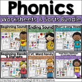 Phonics Picture Sorts and Worksheets - Complete Bundle