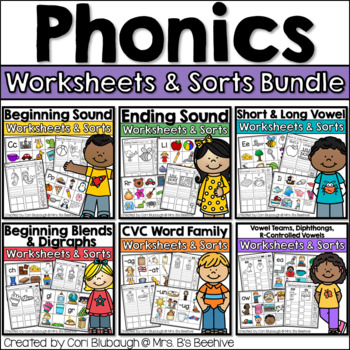 Phonics Picture Sorts - Complete Bundle