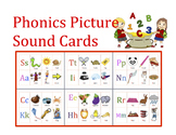 Jolly Phonics Beginning Sound Cards/ Mini Book 22 Pages/ Bookmark