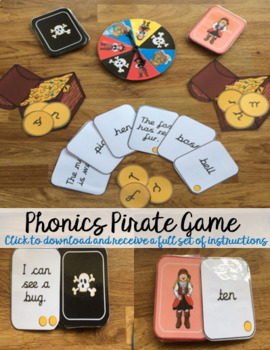 Phonics Pirate Game
