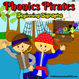 Phonics Pirates Beginning Digraphs wh, th, sh, ph, & ch