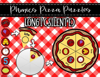 Phonics Pizza Puzzles - Long I Silent E CVCE