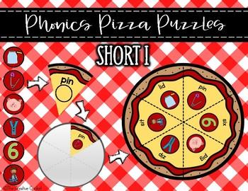 Phonics Pizza Puzzles - Short I