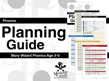 Phonics Planning Guide: Story Wizard Phonics