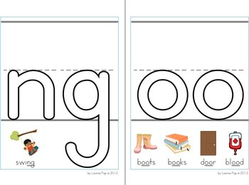 Phonics Play Dough Mats - Special Sounds with examples