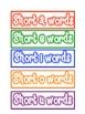 Phonics Pocket Chart Sorts